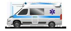 Ambulanza da Soccorso su cellula