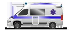 Ambulanza da Rianimazione su cellula