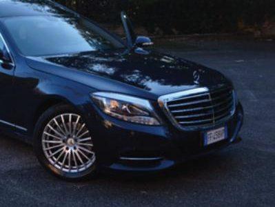 """U01 – Mercedes classe """"S"""" anno 2006 allestimento carro 2016"""